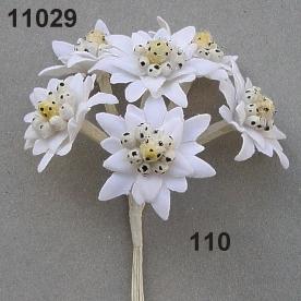 Artificial edelweiss flowers wedding tips and inspiration edelweiss small flowers items on wire rasp geschaft m b h e mightylinksfo