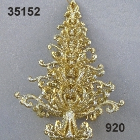 Goldglimmer-Christbaum