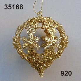 Goldgli.Ornament Ballon